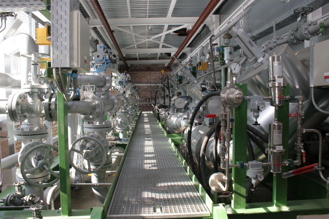 Ввод в эксплуатацию установки получения водорода.