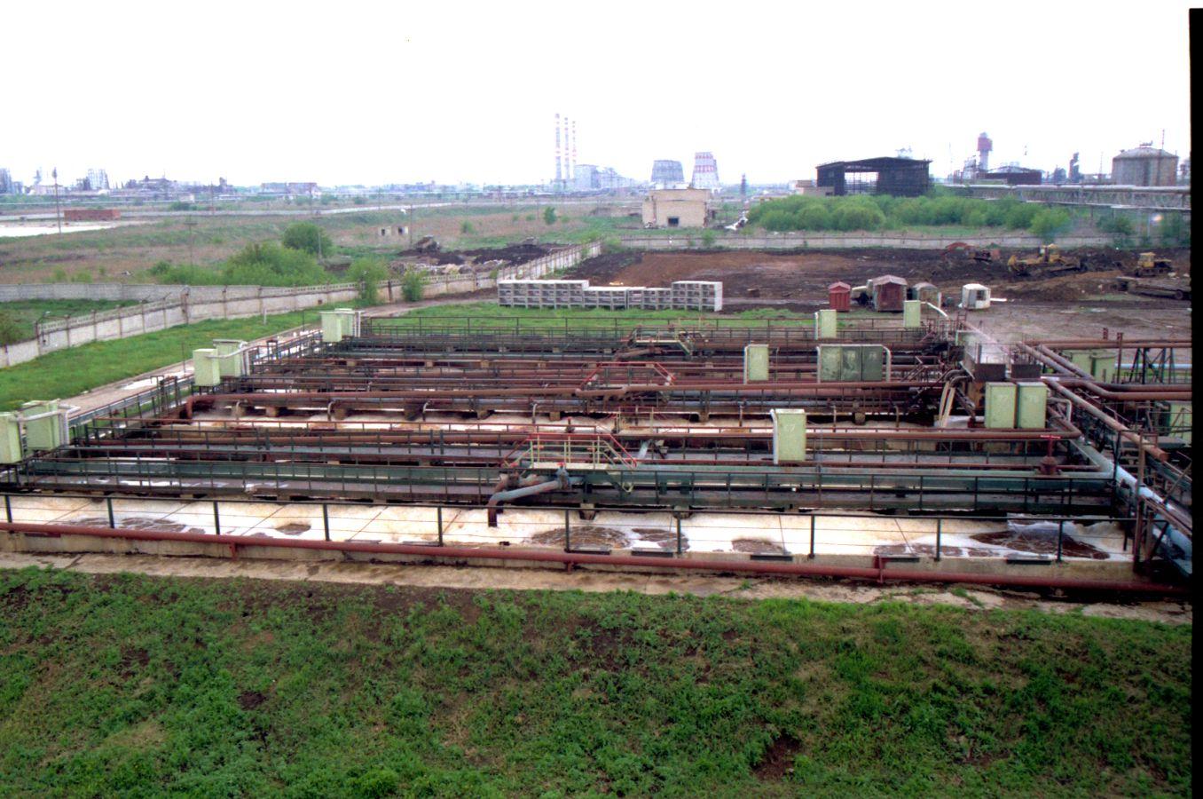 Пуск установки нитро- и денитрофикации для очистки сточных вод предприятия.