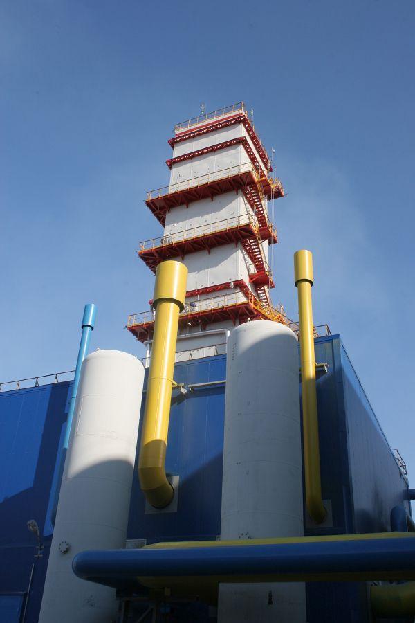 Ввод в эксплуатацию нового блока разделения воздуха, газопровода высокого давления.