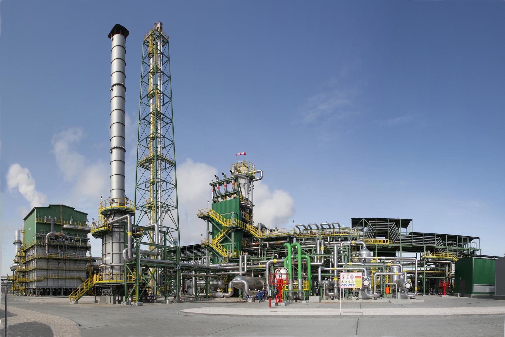 Начало работы совместного с немецкой компанией «Linde» производства аммиака — ООО «Линде Азот Тольятти».