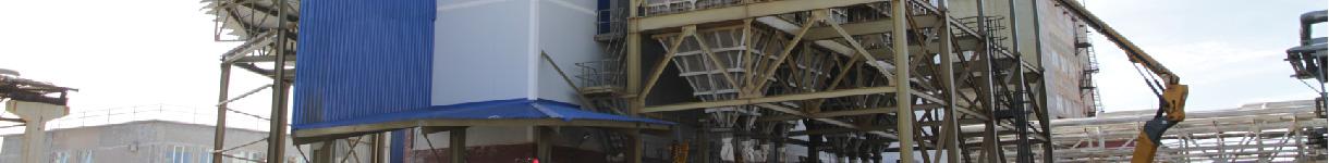 Строительство установки по производству гранулированного сульфата аммония